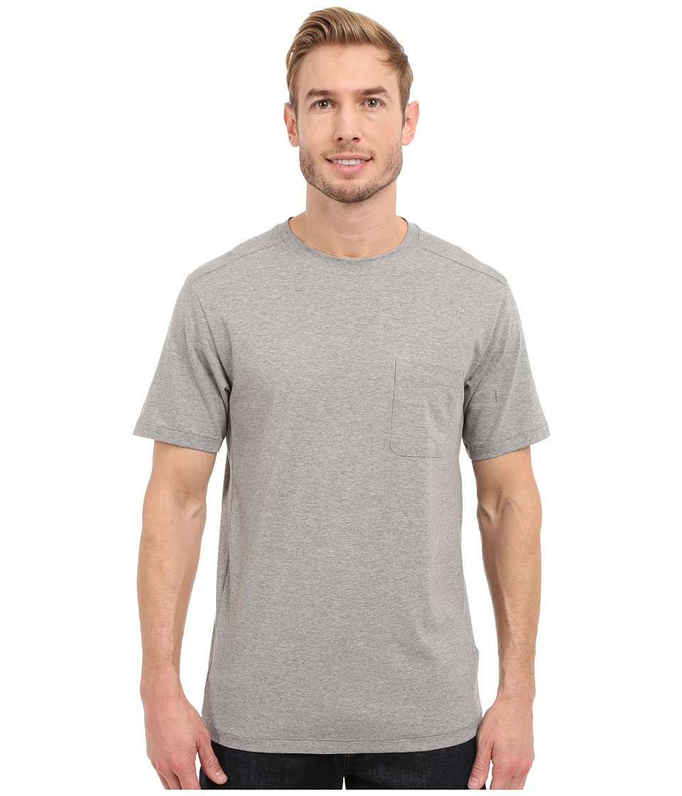 The North Face - Short Sleeve Alpine Start Tee (TNF Light Grey Heather) Men