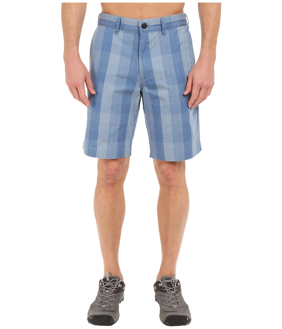 The North Face The Narrows Plaid Shorts (Moonlight Blue Plaid (Prior Season)) Men