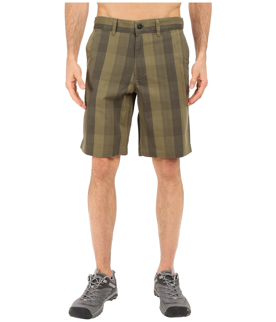 The North Face - The Narrows Plaid Shorts (New Taupe Green Plaid) Men's Shorts