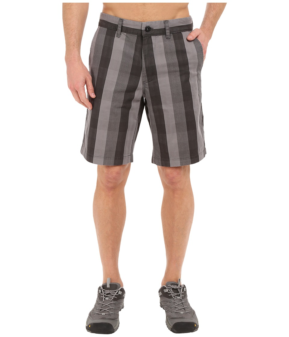 The North Face The Narrows Plaid Shorts (Asphalt Grey Plaid) Men