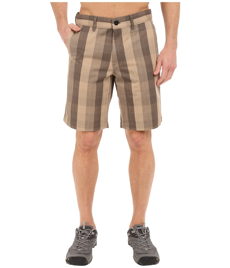 The North Face - The Narrows Plaid Shorts (Weimaraner Brown Plaid) Men's Shorts