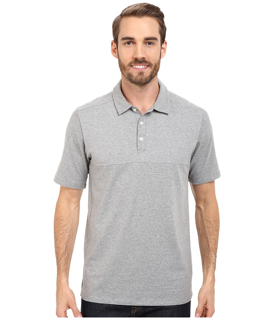 The North Face - Short Sleeve Alpine Start Polo (TNF Light Grey Heather) Men's Clothing