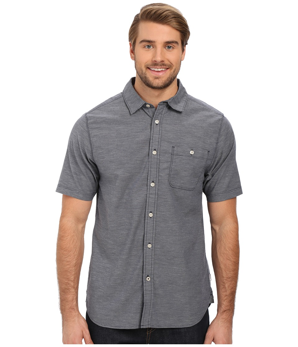 The North Face - Short Sleeve Red Point Shirt (Cosmic Blue) Men's Short Sleeve Button Up