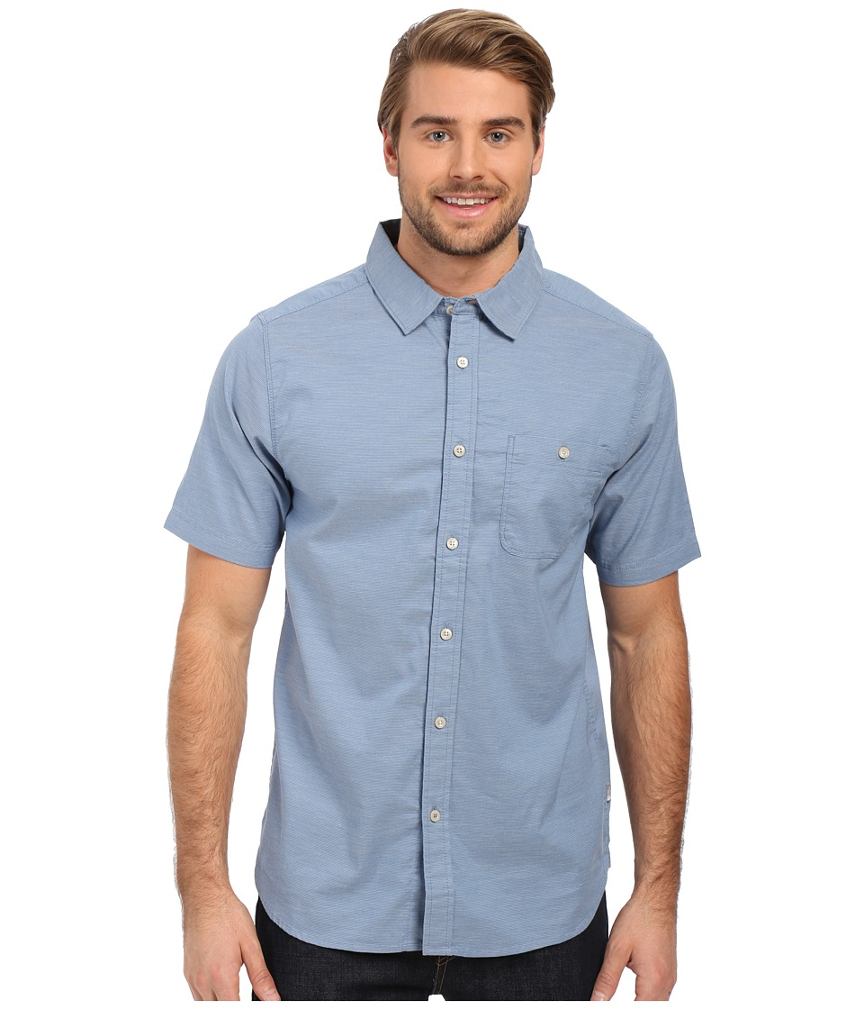 The North Face - Short Sleeve Red Point Shirt (Moonlight Blue) Men's Short Sleeve Button Up