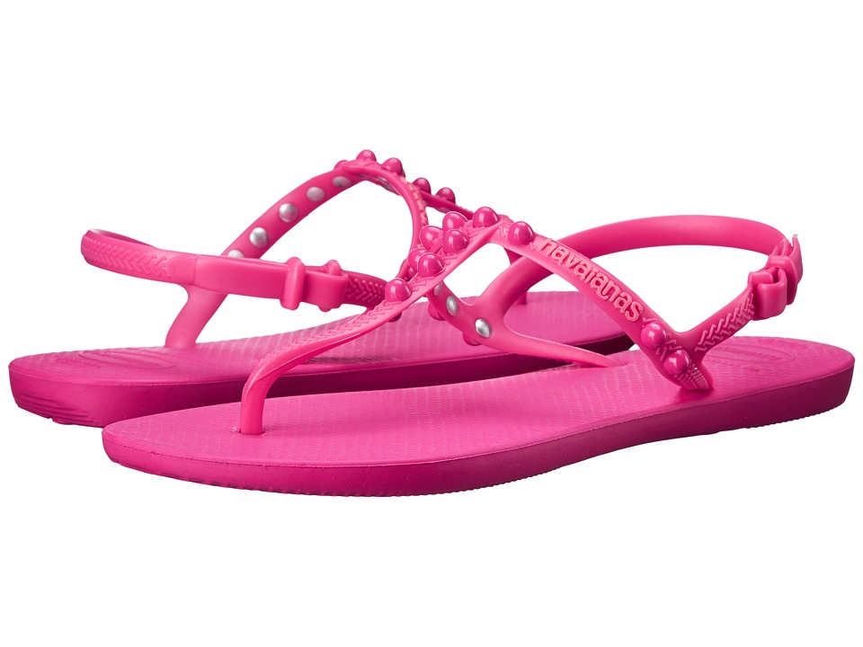 Havaianas - Freedom Candy Flip Flops (Orchid Rose) Women's Sandals
