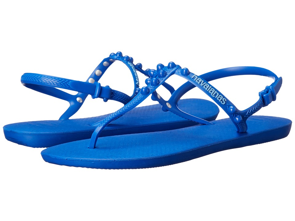 Havaianas - Freedom Candy Flip Flops (Blue Star) Women's Sandals