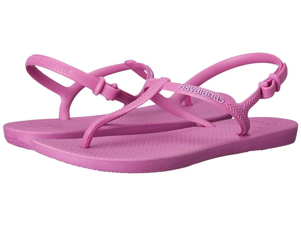 Havaianas - Freedom Flip Flops (Lilac) Women's Sandals