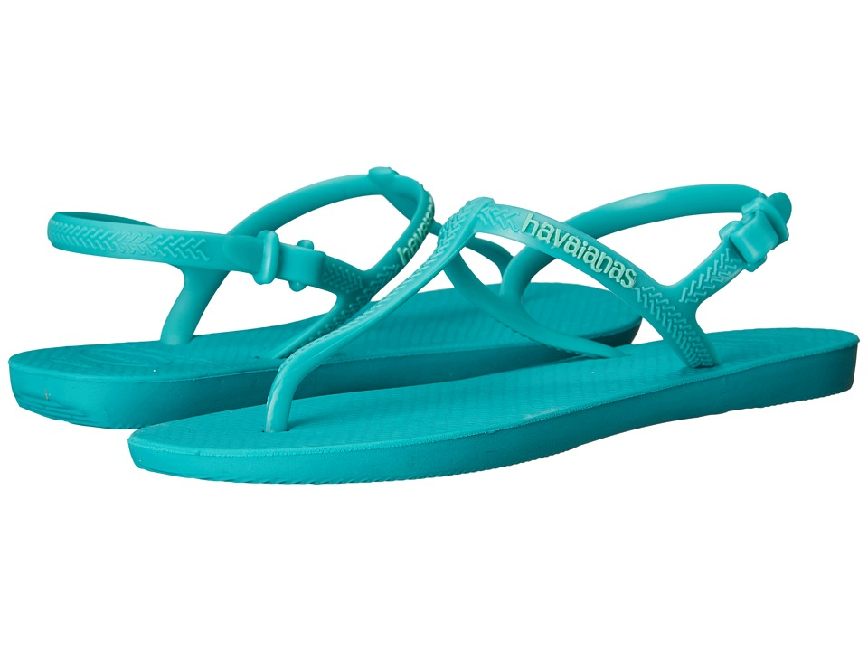Havaianas - Freedom Flip Flops (Lake Green) Women's Sandals