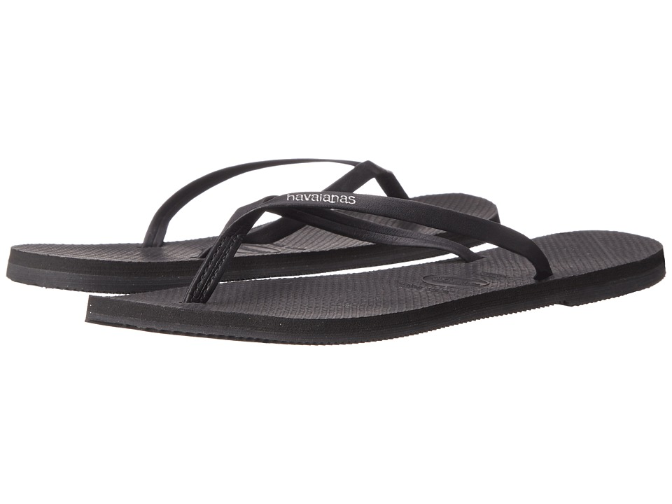 Havaianas - You Flip Flops (Black) Women's Sandals