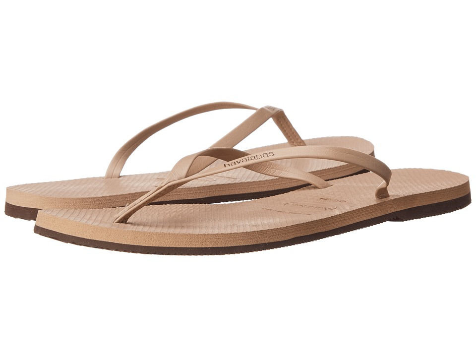 Havaianas - You Flip Flops (Rose Gold) Women's Sandals
