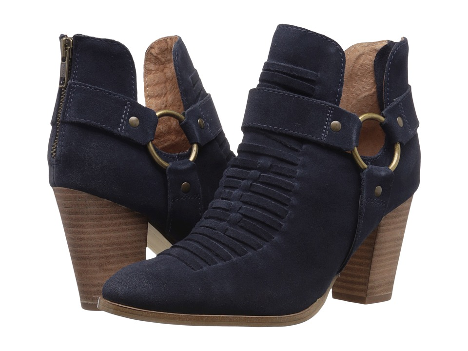 Seychelles - Impossible (Navy Suede) Women's Boots
