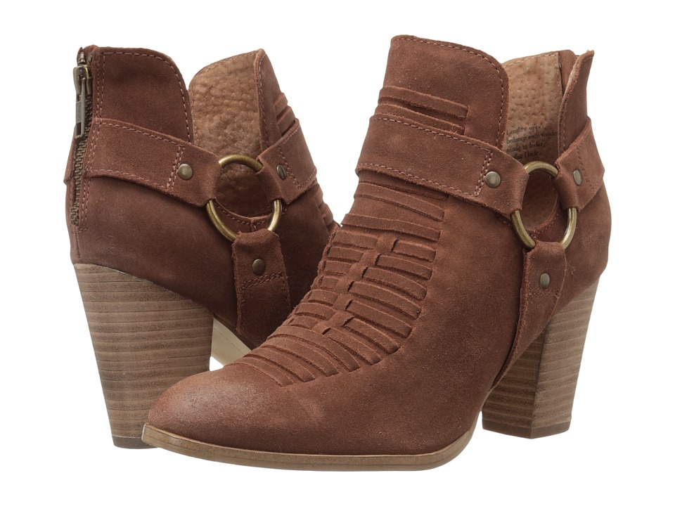 Seychelles Impossible (Cognac Suede) Women