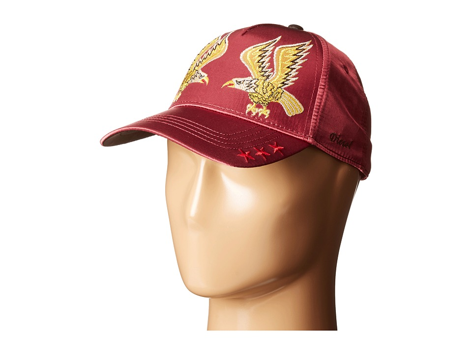 Diesel - Cateen Hat (Maroon/Red) Caps