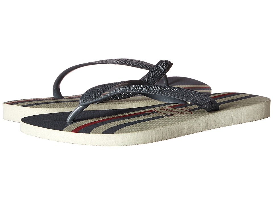 Havaianas - Top Basic Flip Flops (Grey) Men's Sandals