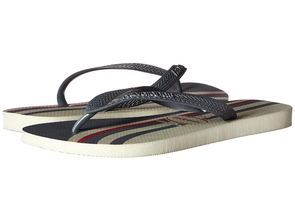 Havaianas - Top Basic Flip Flops (Grey) Men's Sandals