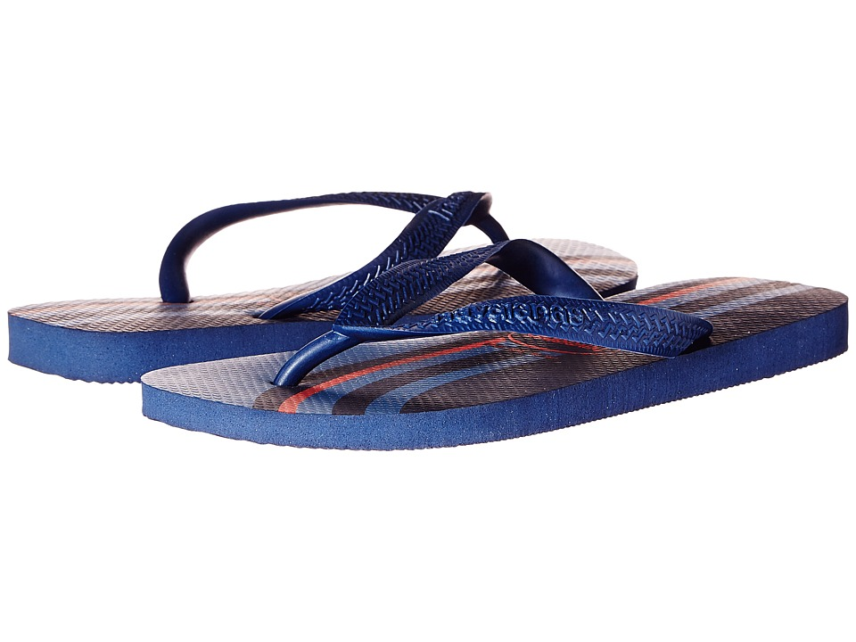 Havaianas - Top Basic Flip Flops (Navy/Navy) Men's Sandals