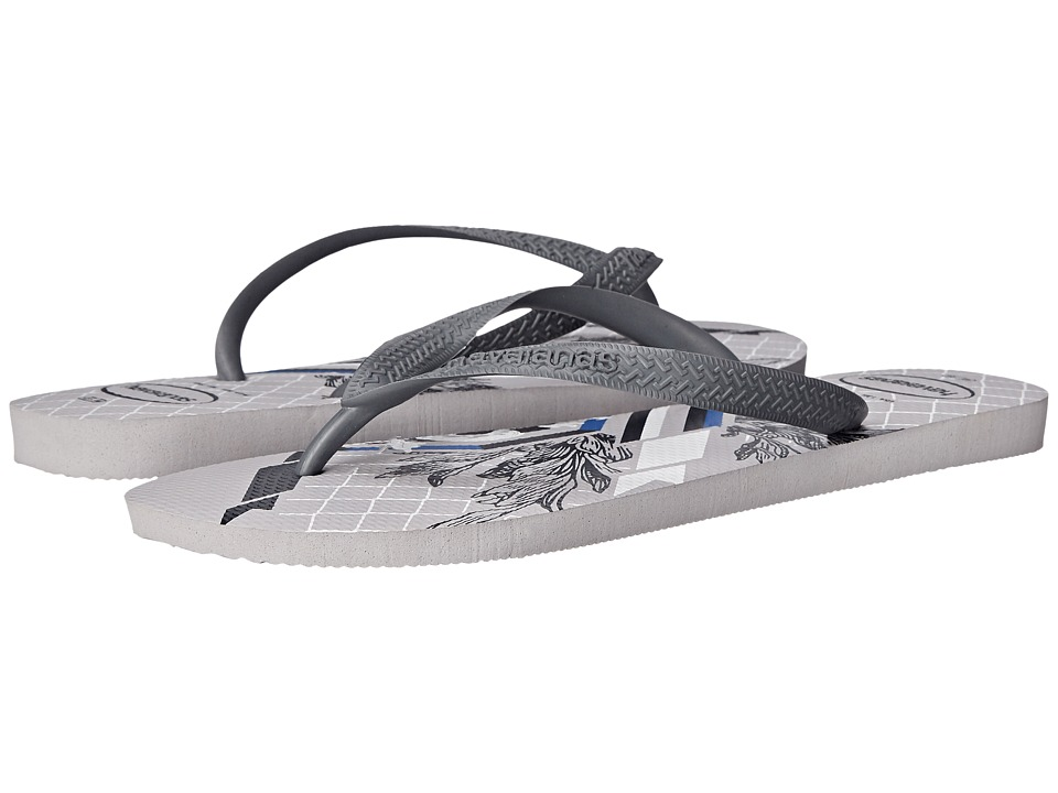Havaianas - Bravo Flip Flops (Ice Grey/Grey) Men's Sandals