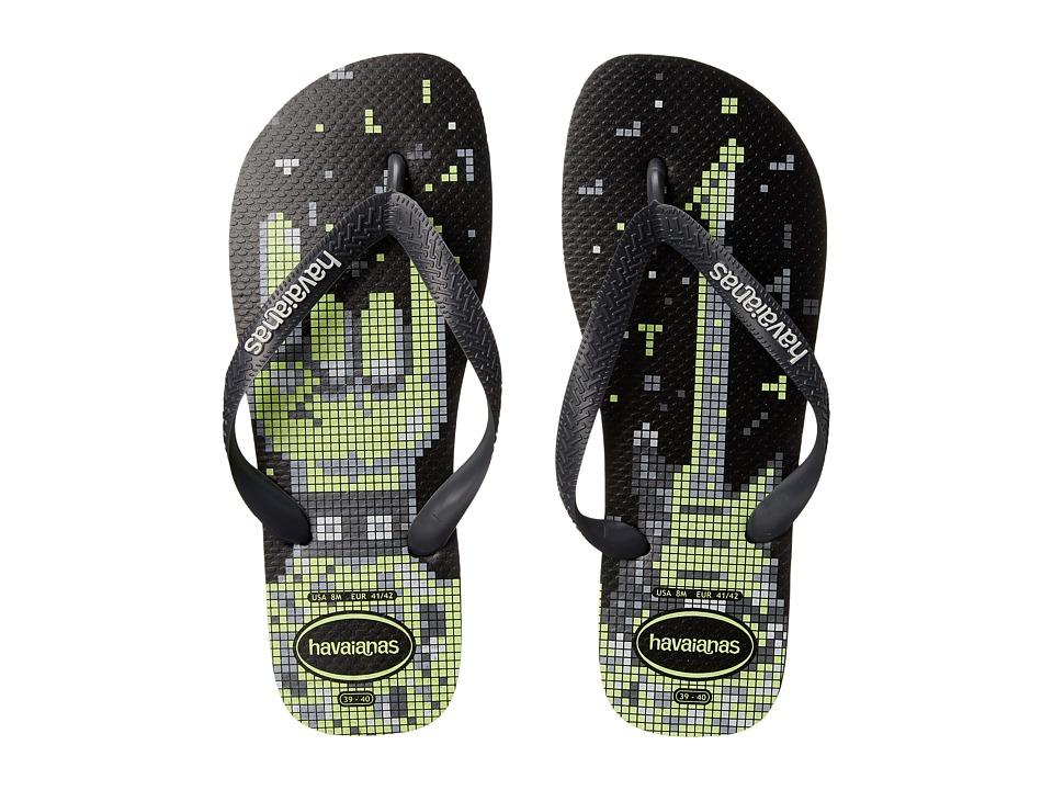Havaianas - 4 Nite Flip Flops (Black/Grey/White) SKU: #7599116 4564