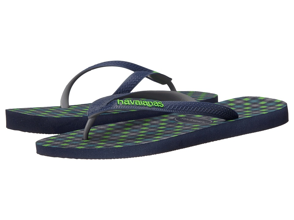 Havaianas - Top Style Flip Flops (Navy Blue) Men's Sandals