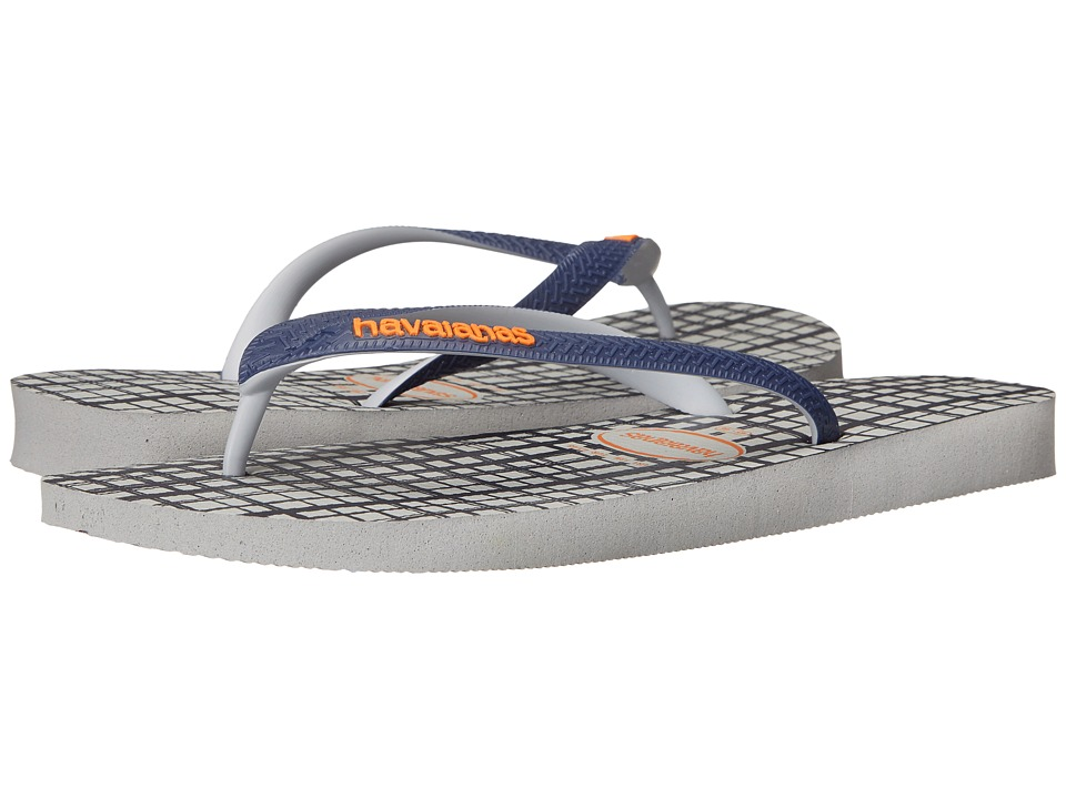 Havaianas - Top Style Flip Flops (Ice Grey) Men's Sandals