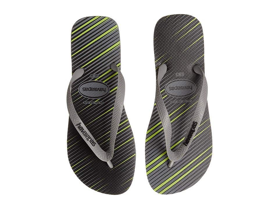 Havaianas - Trend Flip Flops (Steel Grey) Men's Sandals