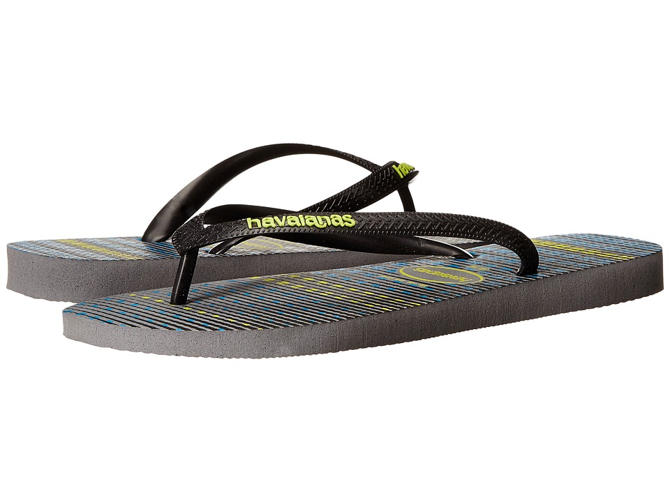 Havaianas - Trend Flip Flops (Steel Grey/Black) Men's Sandals