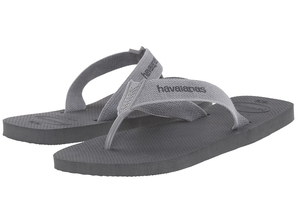 Havaianas - Urban Basic Flip Flops (Dark Grey/Grey) Men's Sandals