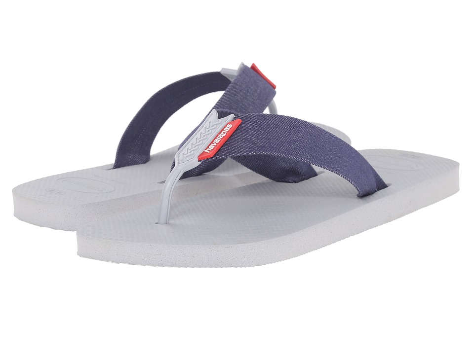 Havaianas - Urban Series Flip Flops (Ice Grey) Men's Sandals