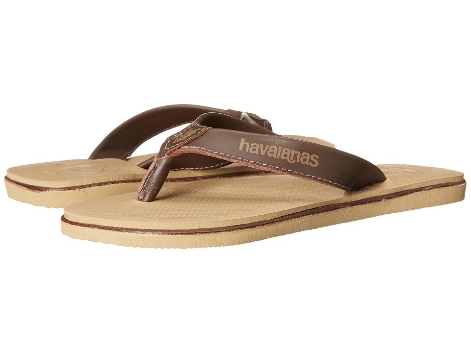 Havaianas - Urban Premium Flip Flops (Beige) Men's Sandals