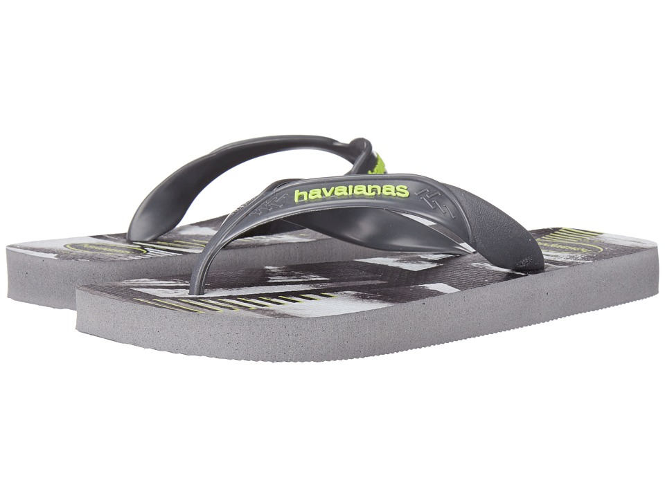 Havaianas Surf Flip Flops (Steel Grey) Men