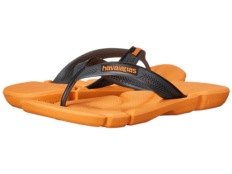 Havaianas - Power Flip Flops (Light Orange) Men's Sandals