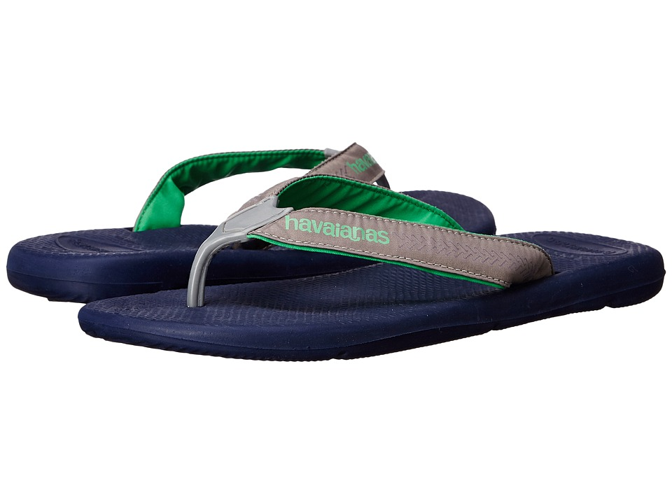 Havaianas - Surf Pro Flip Flops (Navy Blue) Men's Sandals