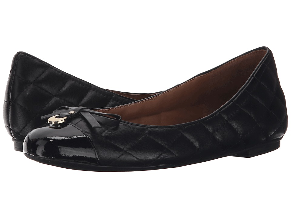 French Sole Quarrel (Black Patent Leather) Women