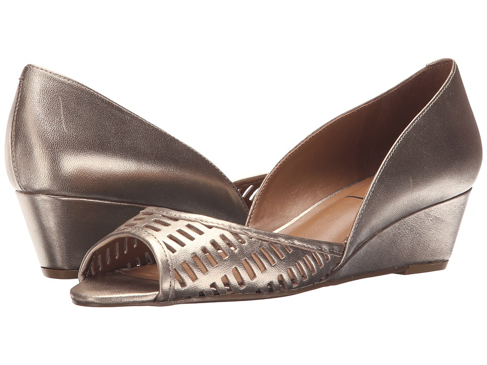 French Sole - Quark (Platino Metallic Leather) Women