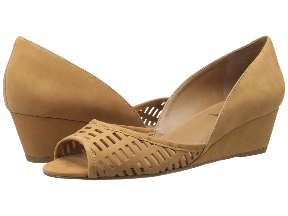 French Sole - Quark (Tan Nubuck) Women's Flat Shoes