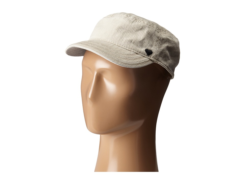 Life is good - Heart Herringbone Cadet Cap (Bone) Caps