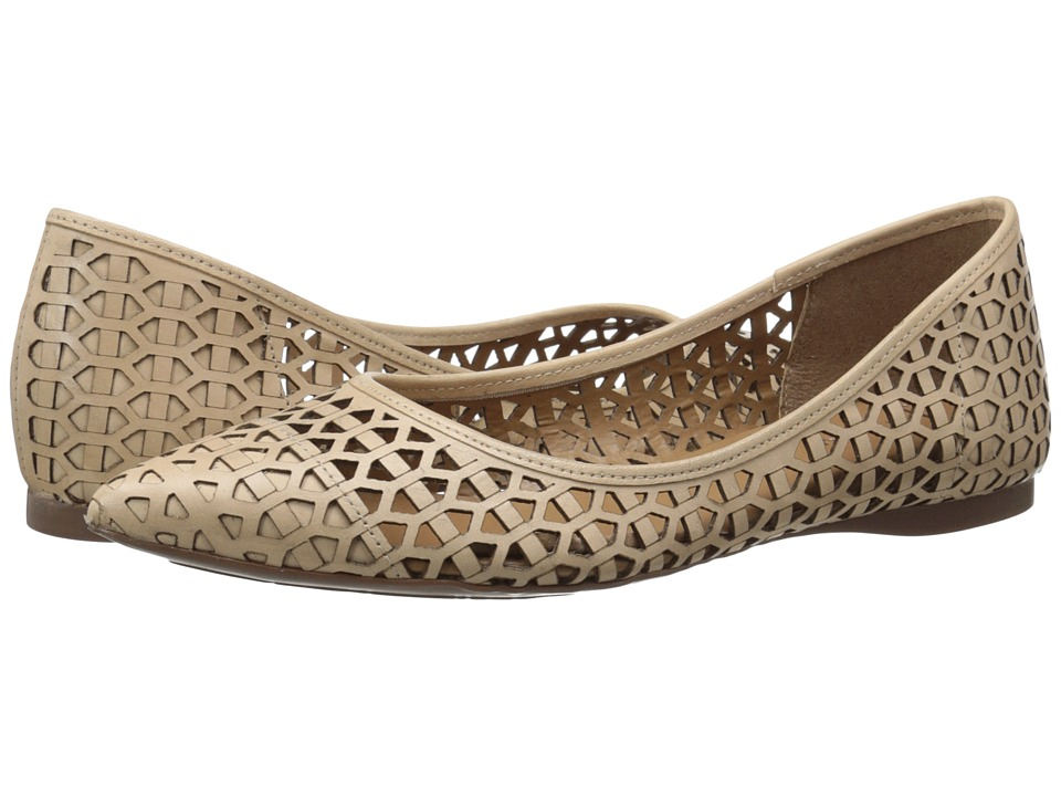 French Sole - Quantum (Natural Leather) Women's Flat Shoes