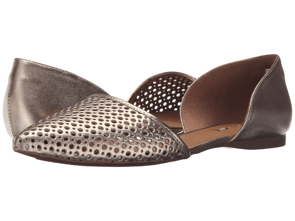 French Sole Quotient (Platino Metallic Leather) Women
