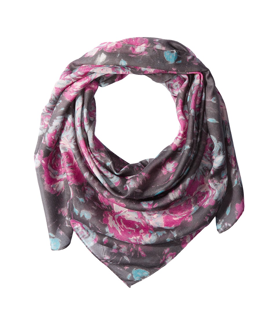 Life is good - Garden Scarf (Blue Multi) Scarves