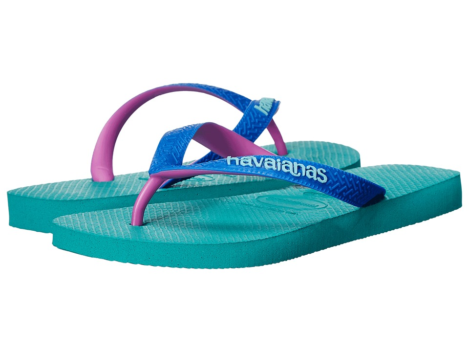 Havaianas Top Mix Flip Flops (Lake Green/Lake Green) Women