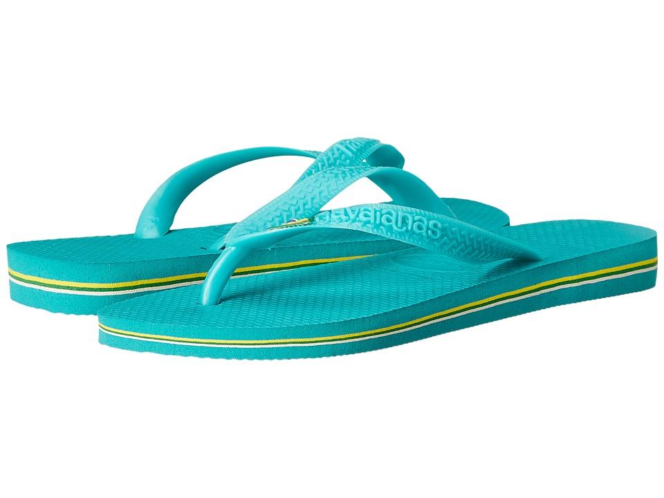 Havaianas - Brazil Flip Flops (Lake Green/Lake Green) Women's Sandals