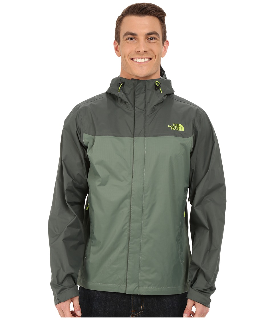 The North Face - Venture Jacket (Laurel Wreath Green/Spruce Green) Men's Jacket