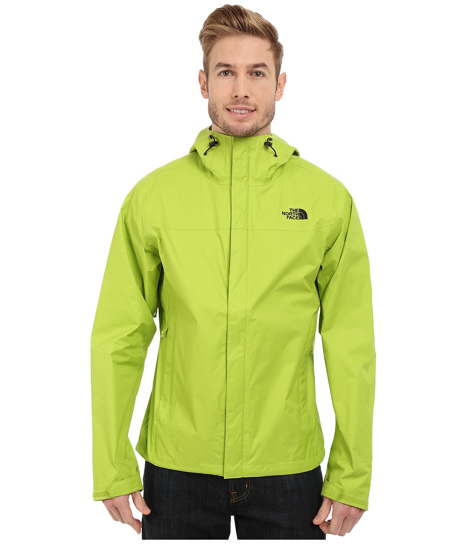 The North Face - Venture Jacket (Macaw Green/Macaw Green) Men's Jacket
