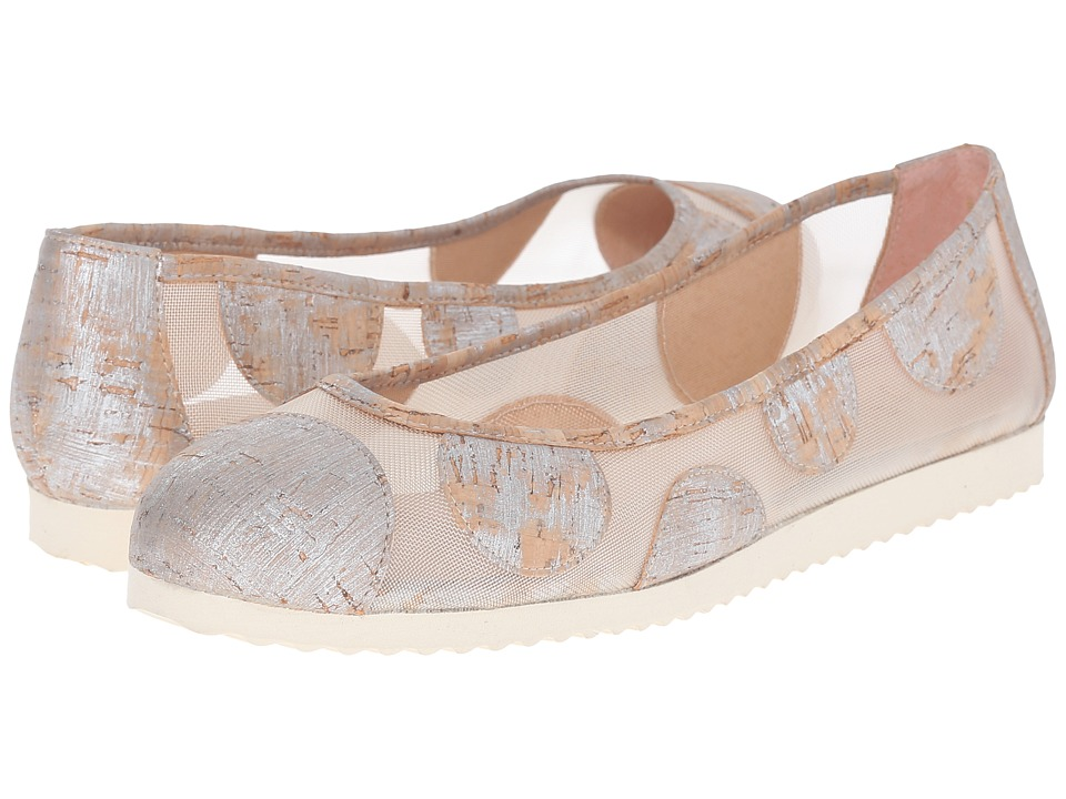 French Sole - Retro (Silver Cork) Women