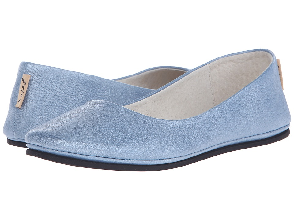 French Sole - Sloop (Jeans Metallic Pebbles) Women's Flat Shoes