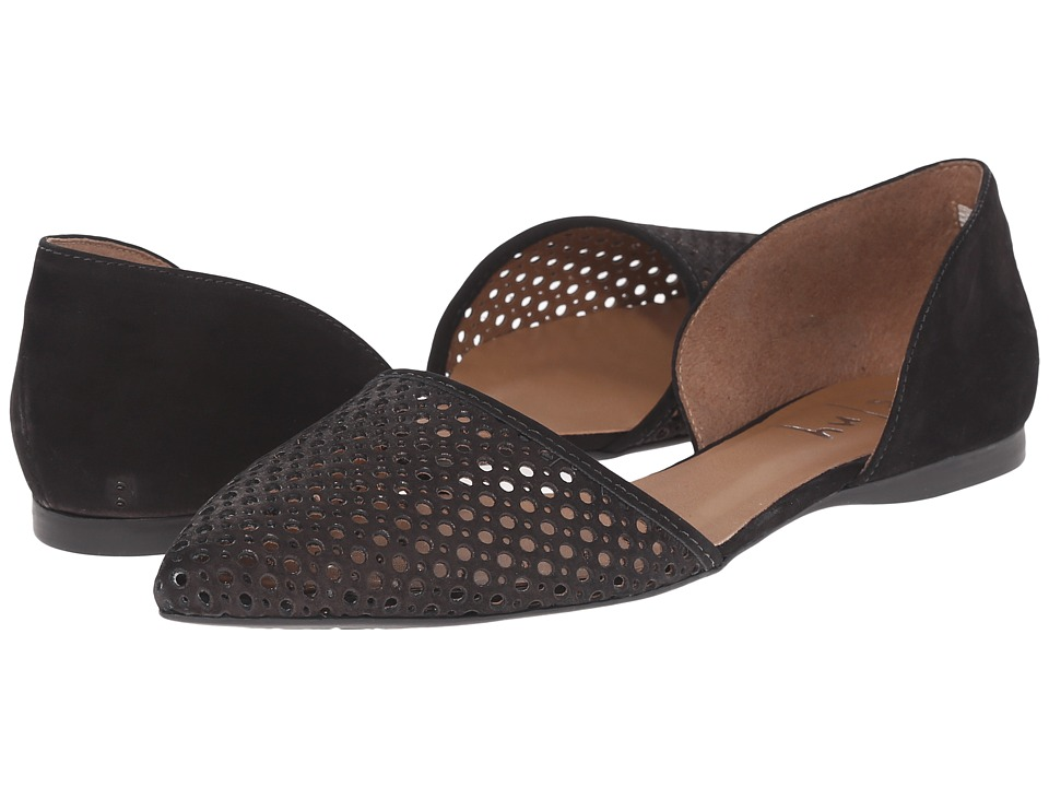 French Sole - Quotient (Black Nubuck) Women