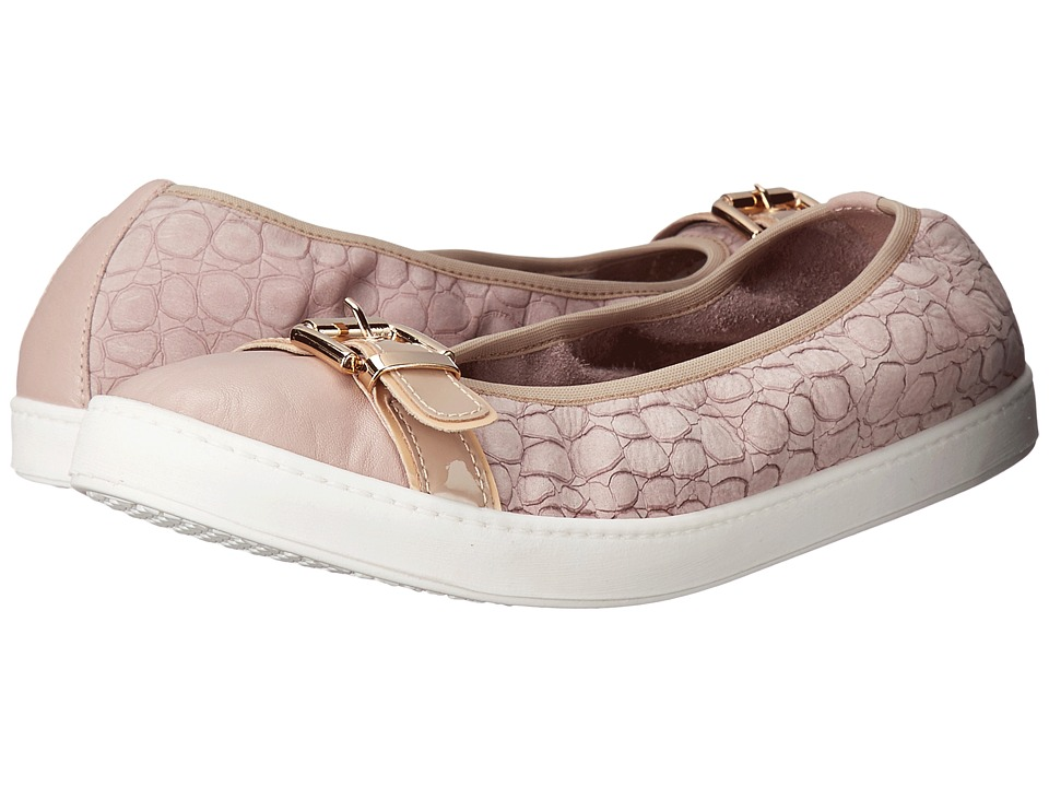 French Sole - Outdoors (Light Taupe Nappa) Women's Flat Shoes