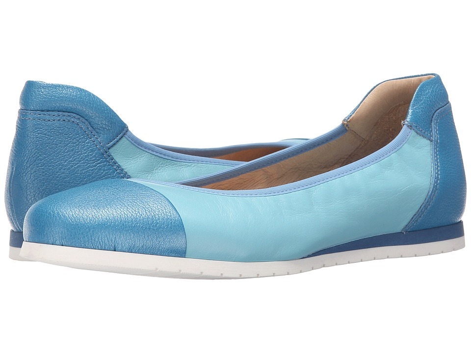 French Sole - Oblige (Cool Blue Nappa) Women