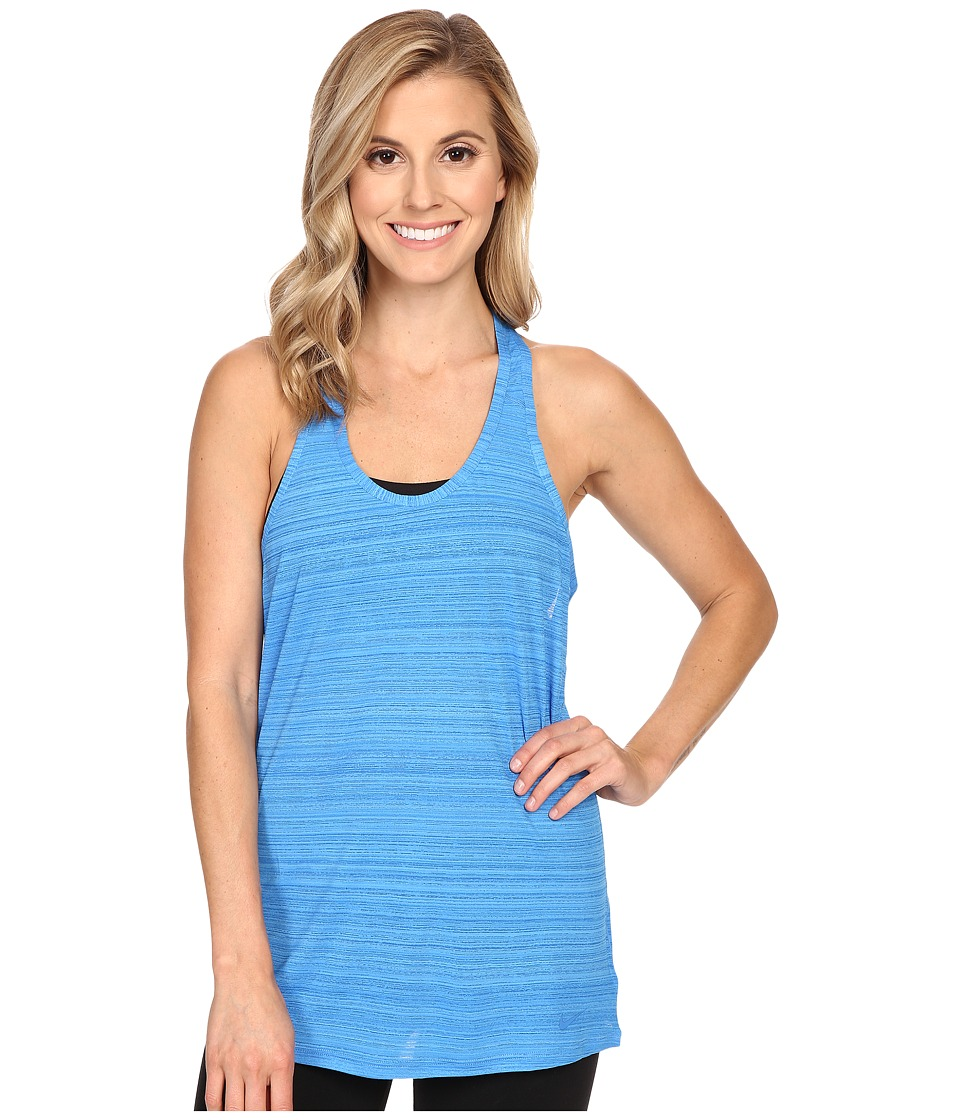 Nike - Victory Tank Top (Light Photo Blue/Black/Light Photo Blue) Women's Sleeveless