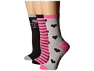 Valentine's Day Crew Sock 3-Pack